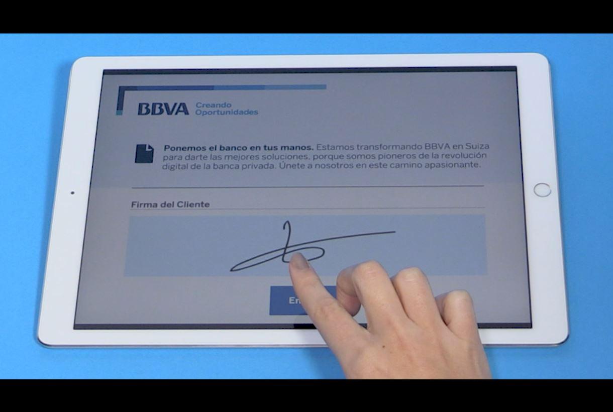 Firma digital BBVA Suiza