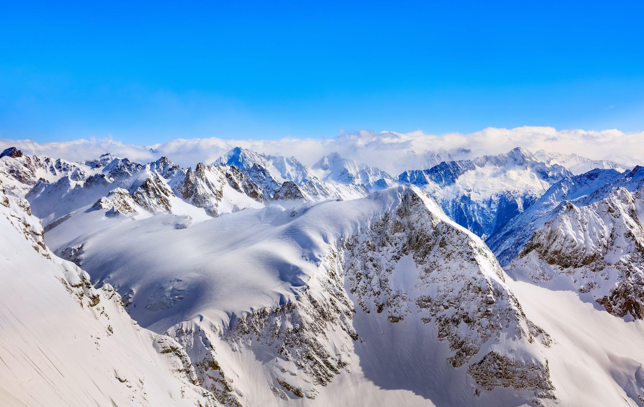 Los principales destinos de invierno en Suiza